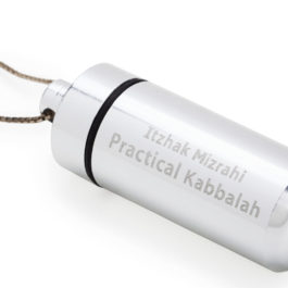 Personal amulet includes live silver