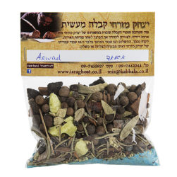 Aswad Removes and prevents black magic spells, curses and bad luck